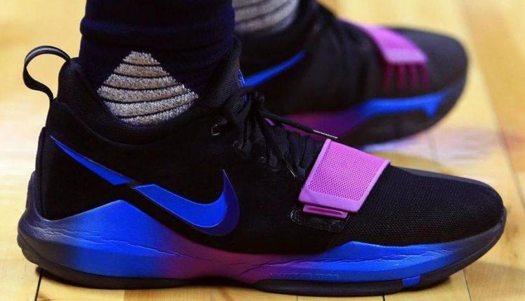 選手實著 / 漸層效果讓你目不轉睛 Paul George 著用 Nike PG1 新色