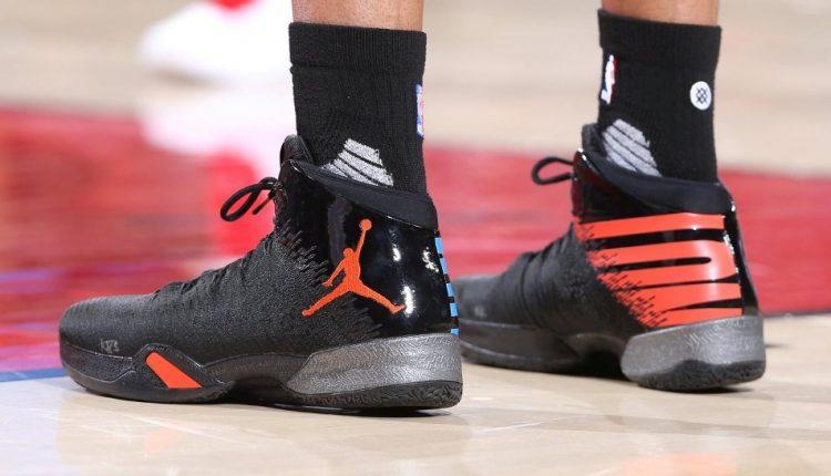 選手實著 / Russell Westbrook 著用 Air Jordan XXX+XXXI 'Why Not' PE