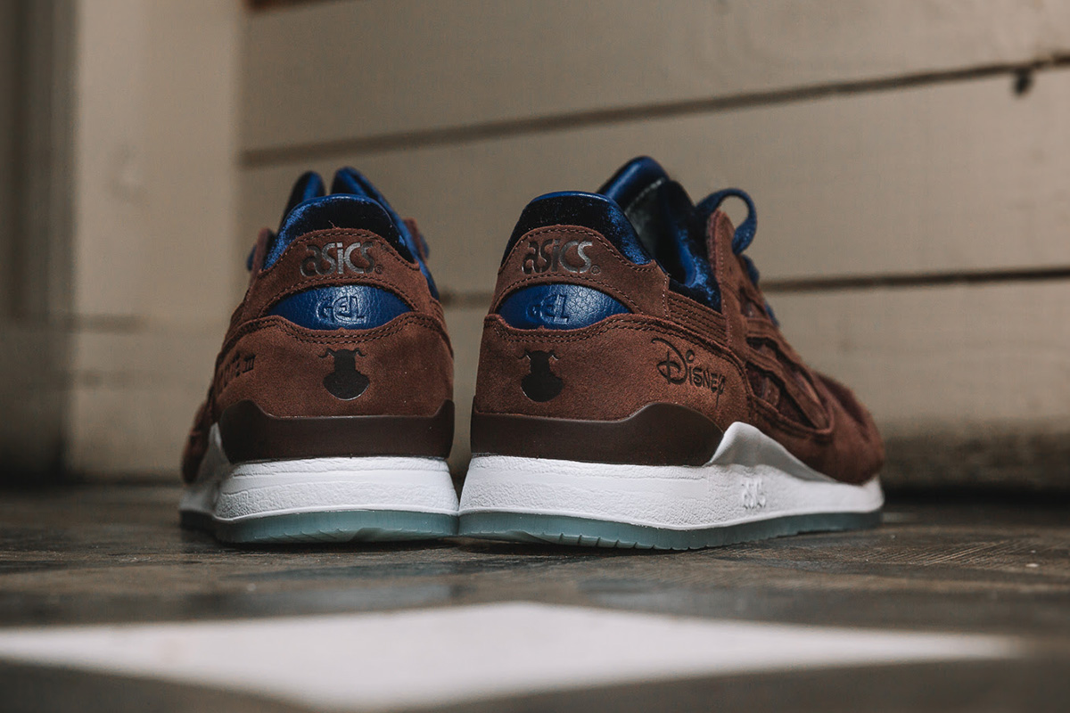 new arrival 9e804 201d3 Disney x ASICS Tiger GEL-Lyte III 'Beauty and the Beast' (8 ...