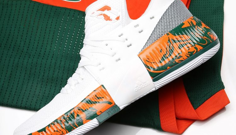 新聞分享 / adidas Dame 3 'Miami Hurricanes' 球員版細部近賞