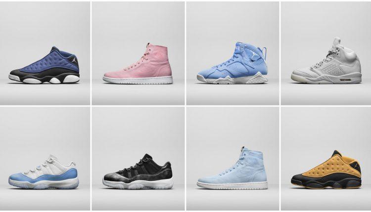 新聞分享 / Jordan Brand 幫你劃重點!Air Jordan 系列 2017 年夏季注目復刻鞋款公開