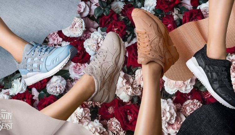 官方新聞 / ASICS Tiger x Disney 「美女與野獸」聯名鞋款 3 月 17 日在台上市