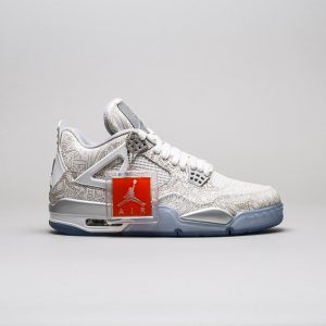 Air Jordan 4 Retro Laser 'Silver'