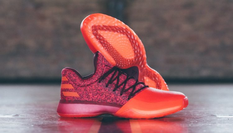 新聞分享 / 火熱新色 adidas Harden Vol.1 'Red Glare' 本周登場