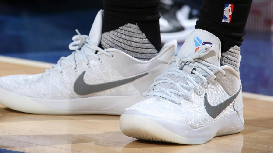 super cute 2860e d4fbb 選手實著/ DeMar DeRozan 著用Nike Kobe A.D. 'Derozan' PE ...