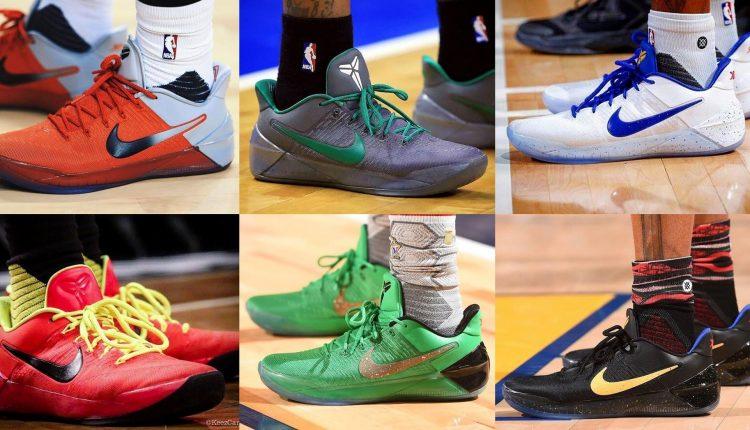 選手實著 / Nike Kobe A.D. 特別配色款實著蒐羅