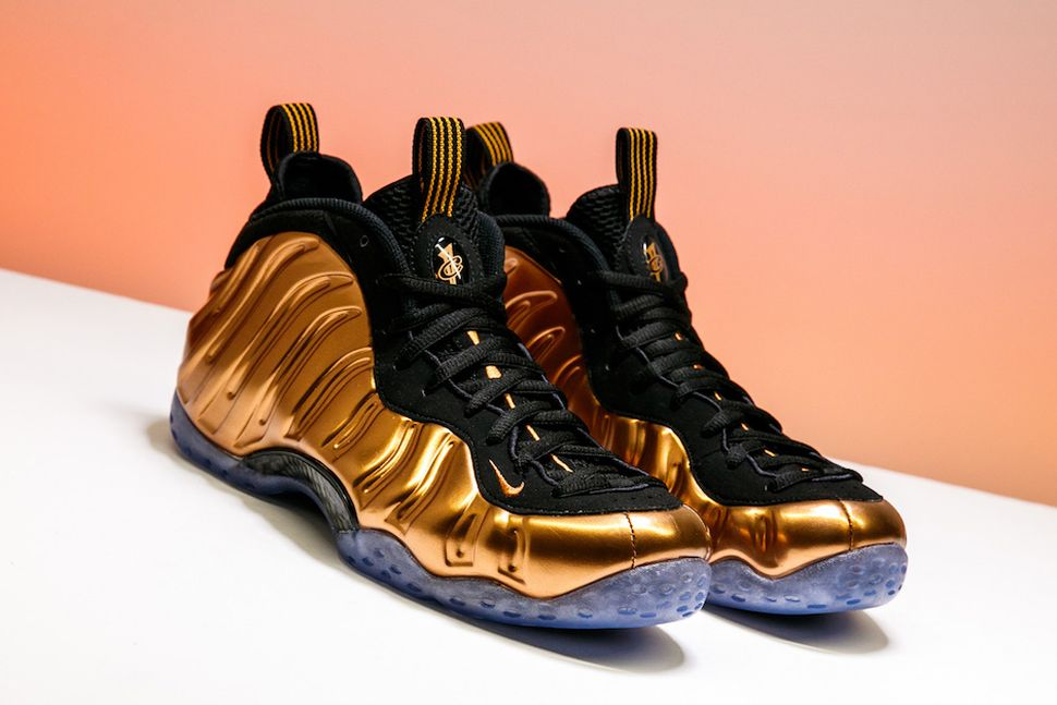Penny 1 Air Foamposite One Habanero Red? Foams Black T ...