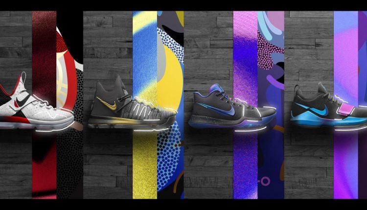 新聞分享 / 四大球星迎戰季後賽 Nike Basketball 推出 'Flip the Switch' 系列鞋款