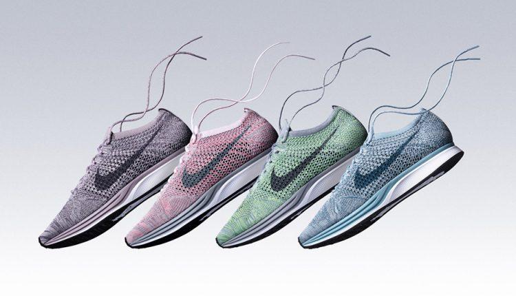 新聞分享 / 四色齊發 Nike Flyknit Racer 'Macaron' 系列作亮相