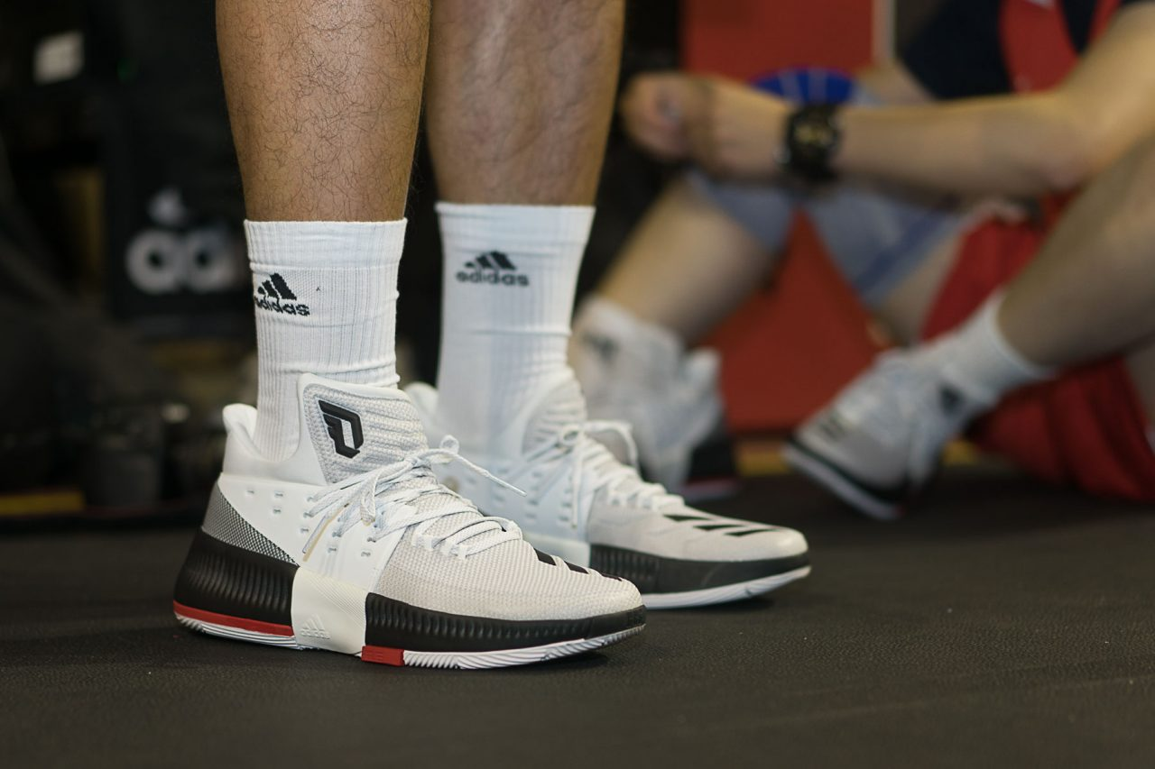 best sneakers ab5eb 135d1 adidas Dame 3  Rip City