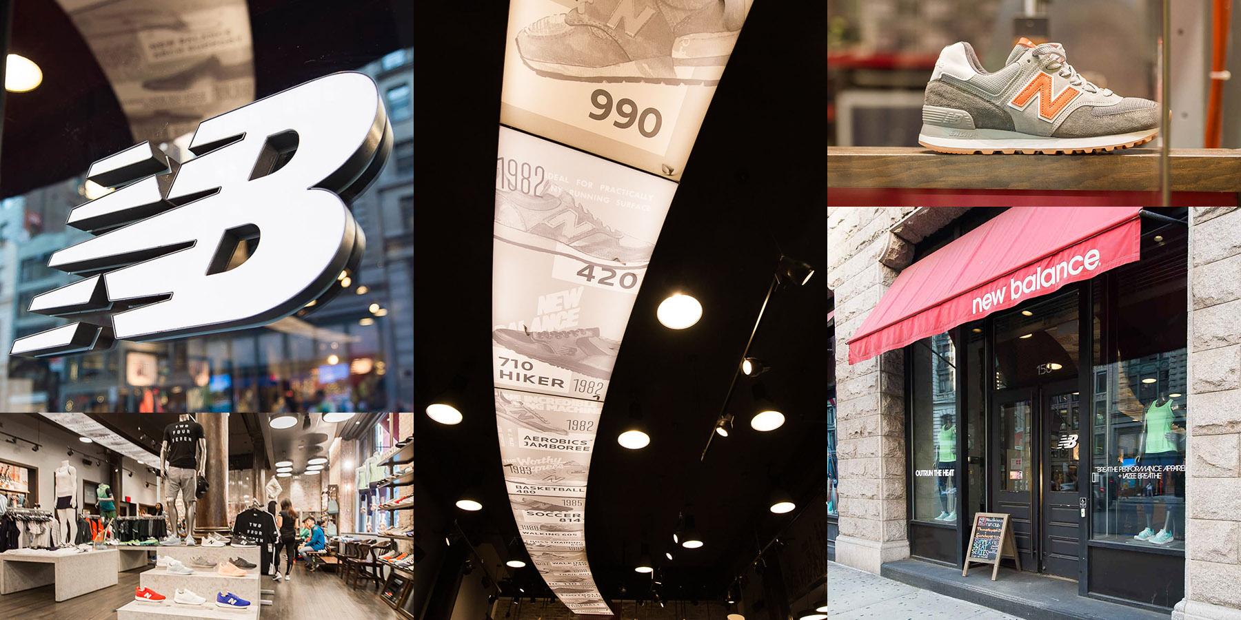 工鞋品牌_勘履直擊 / 經典與創新概念同步傳遞 New Balance New York City flatiron ...