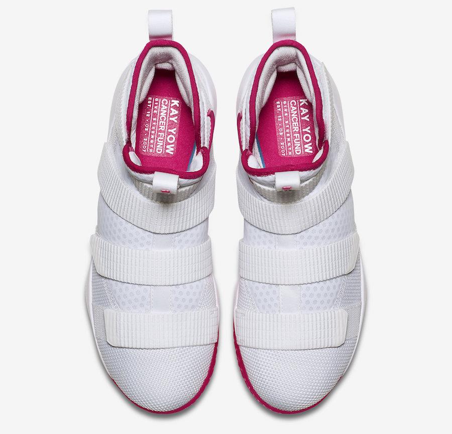 新聞分享 \/ 為乳癌發聲 Nike LeBron Soldier 11