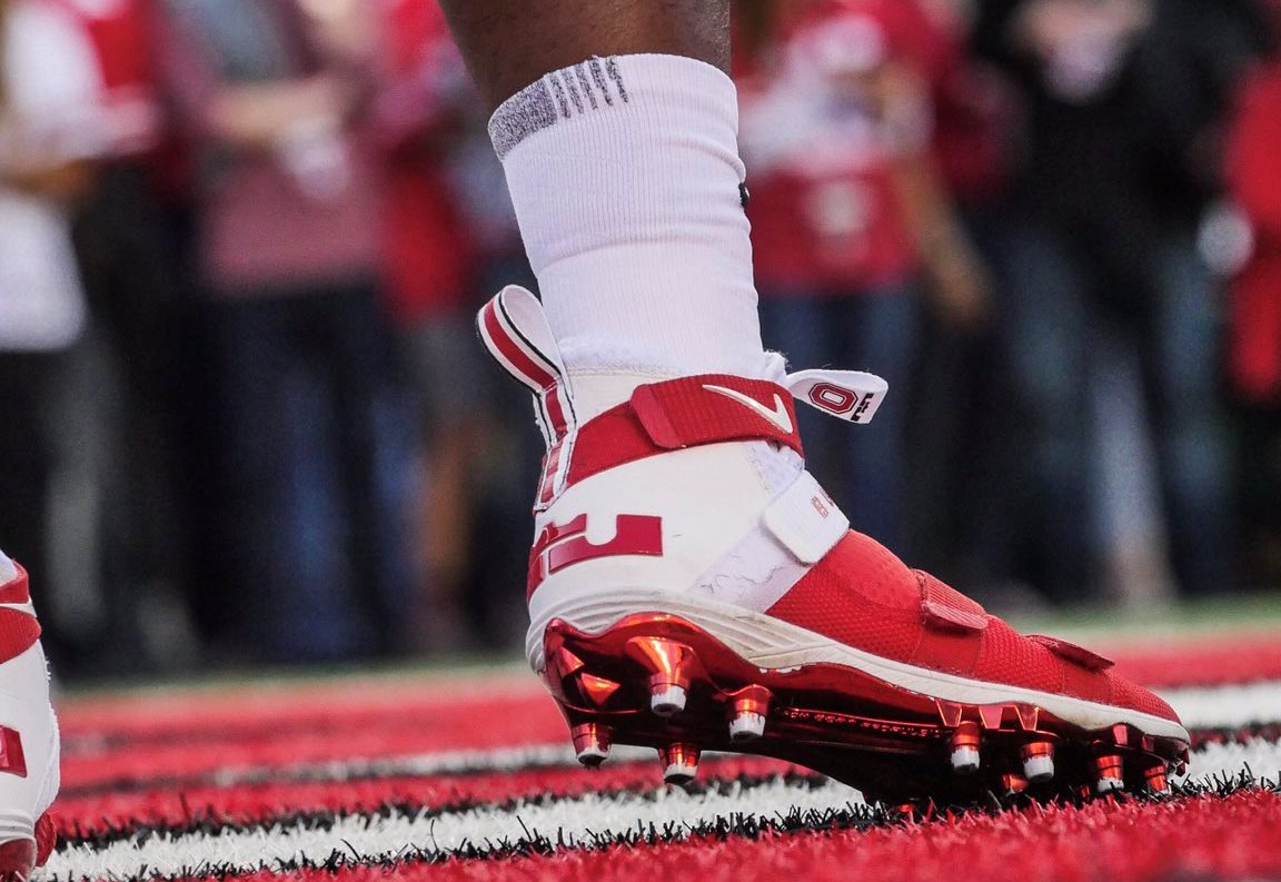 new arrival 882cf 2df01 lebron-soldier-11ohio-state-football-cleat-on-foot – KENLU.net