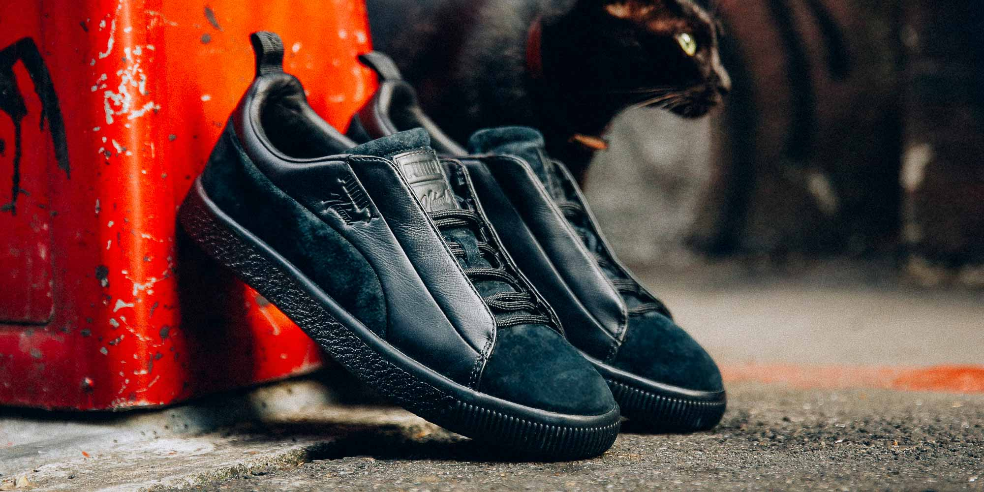 lowest price 4aa4d 53657 Clyde FSHN 顛覆認知/ PUMA x NATUREL 讓經典魅力重組– KENLU.net