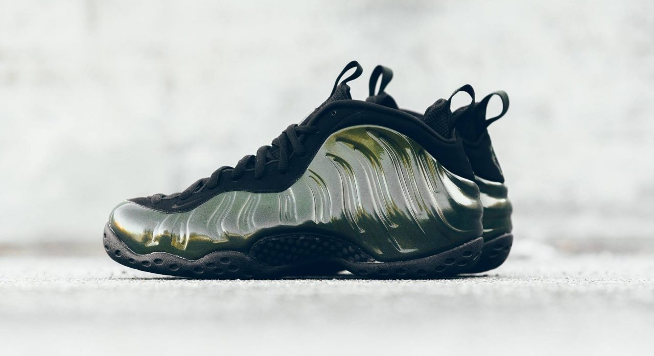 Nike Air Foamposite One Silver Volt Release Reminder ...