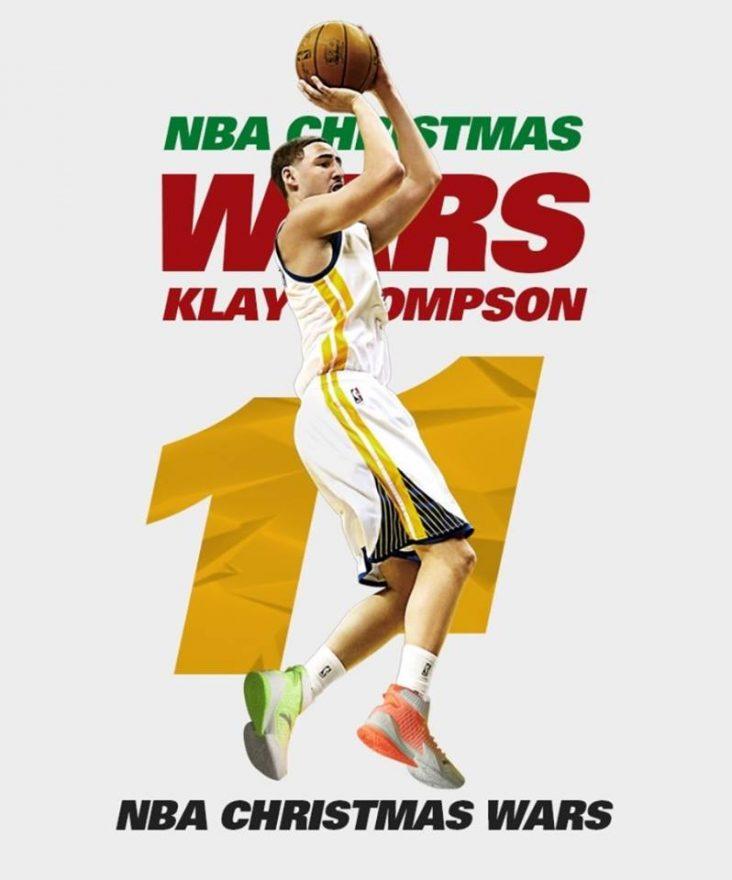 "Anta 2021 New Nba Klay Thompson Kt3 ""Christmas Wars"""