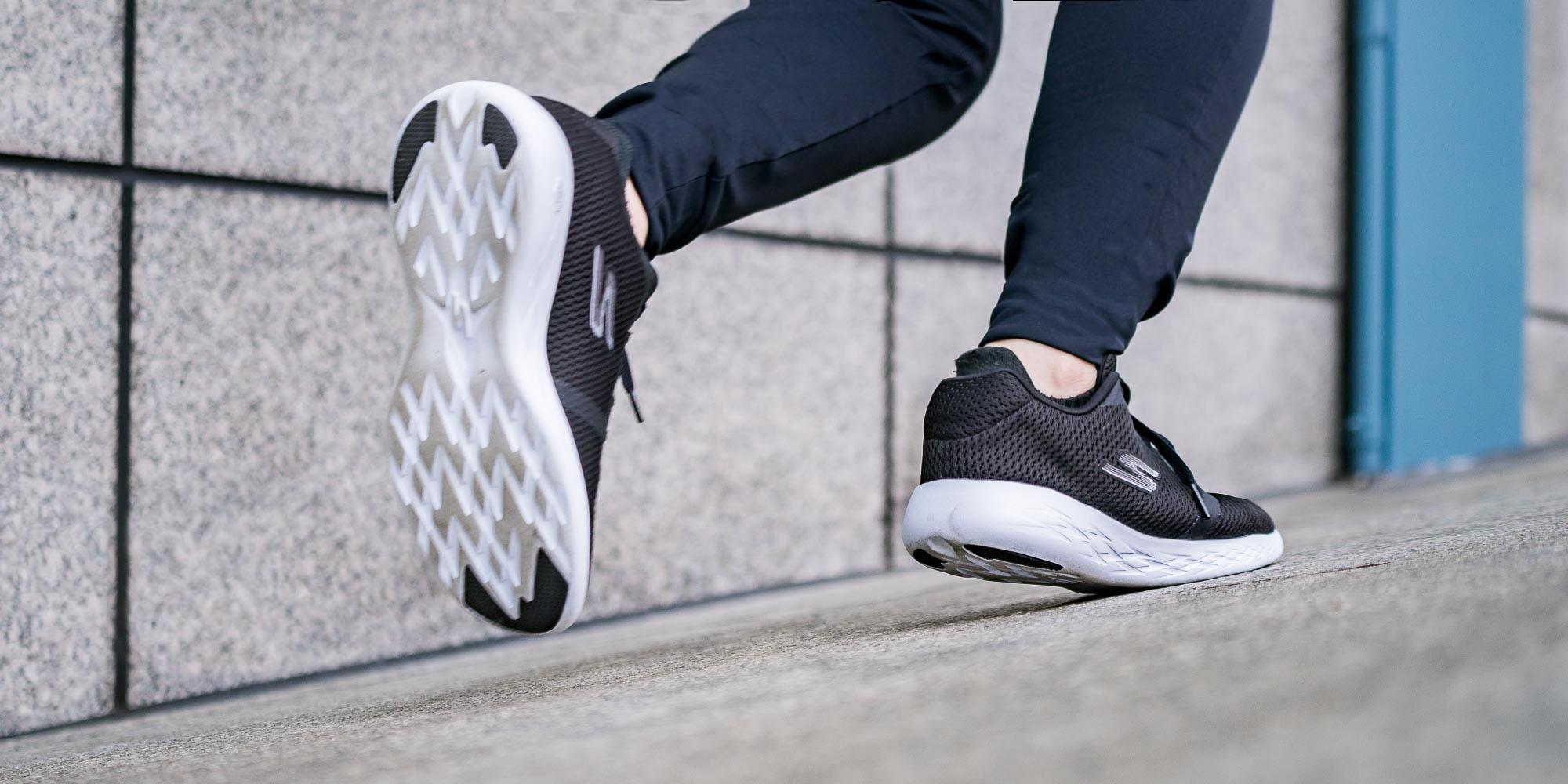 review sepatu skechers go run 600