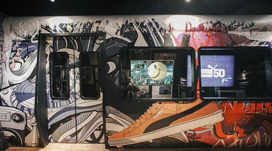 塗鴉車廂真實呈現。
