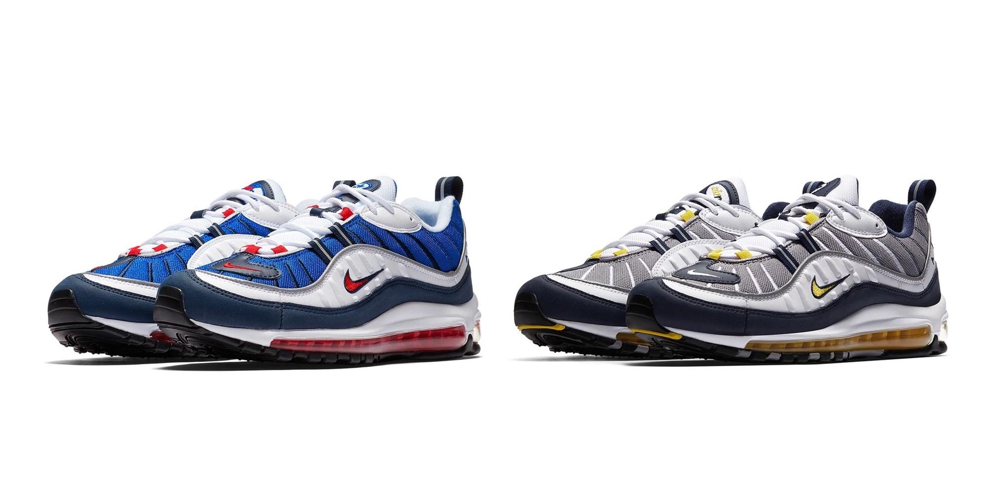 雙色齊發/ Nike Air Max 98 臺灣販售資訊