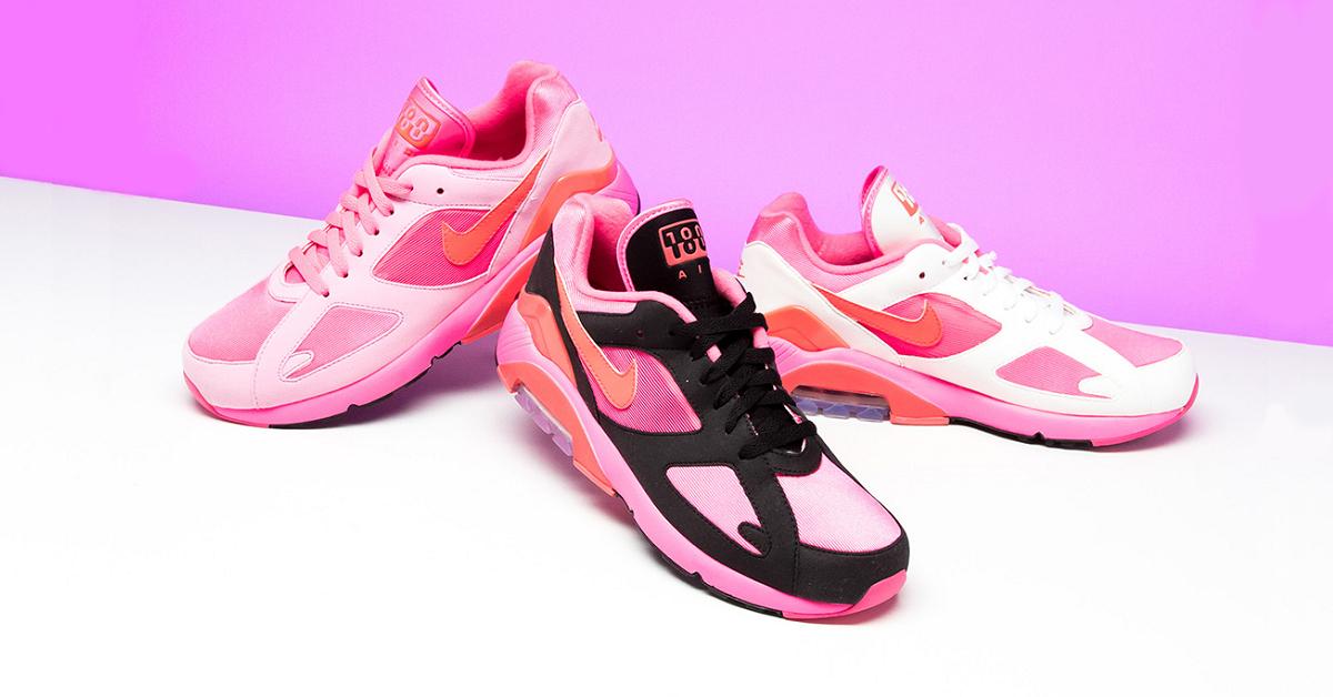 粉紅男孩COMME des GARÇONS x Nike