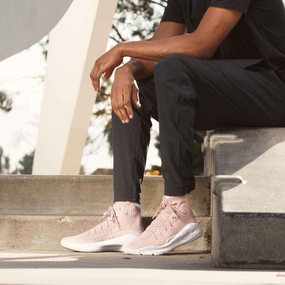 Under Armour Curry 4 Flushed Pink on