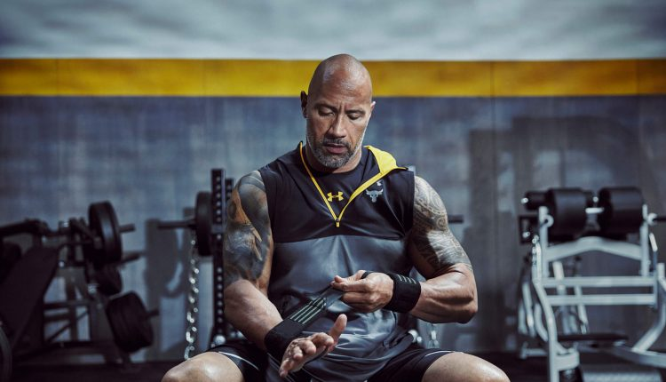 DWAYNE JOHNSON UNDER ARMOUR CHASE GREATNESS COLLECTION (5)