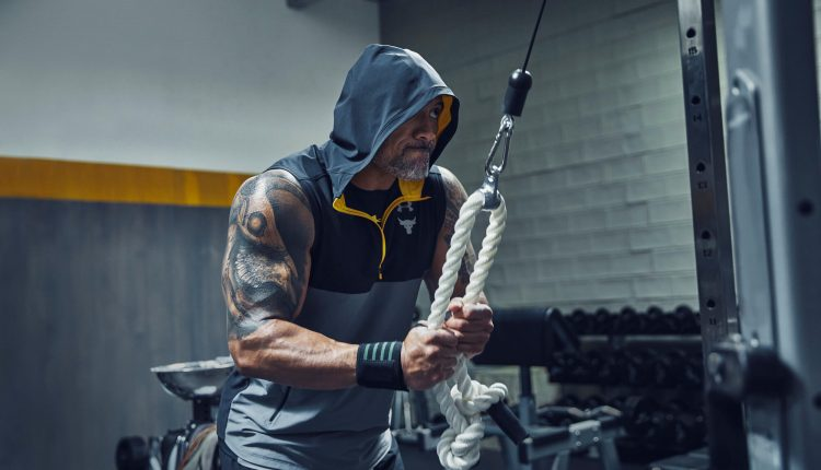 DWAYNE JOHNSON UNDER ARMOUR CHASE GREATNESS COLLECTION (9)