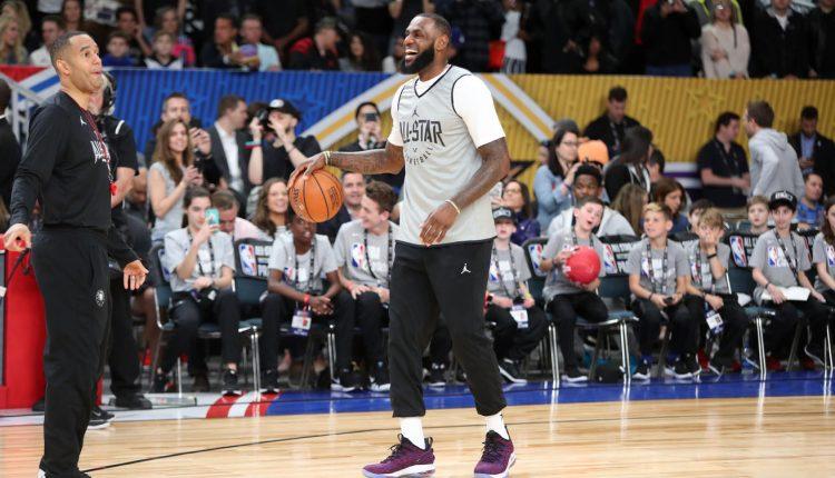 2018 NBA All-Star Practice