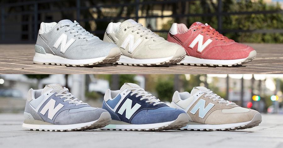 sports shoes 65833 b8c27 官方新聞/ 浪板、冰淇淋詮釋輕透質感New Balance ICONIC 574 夏 ...