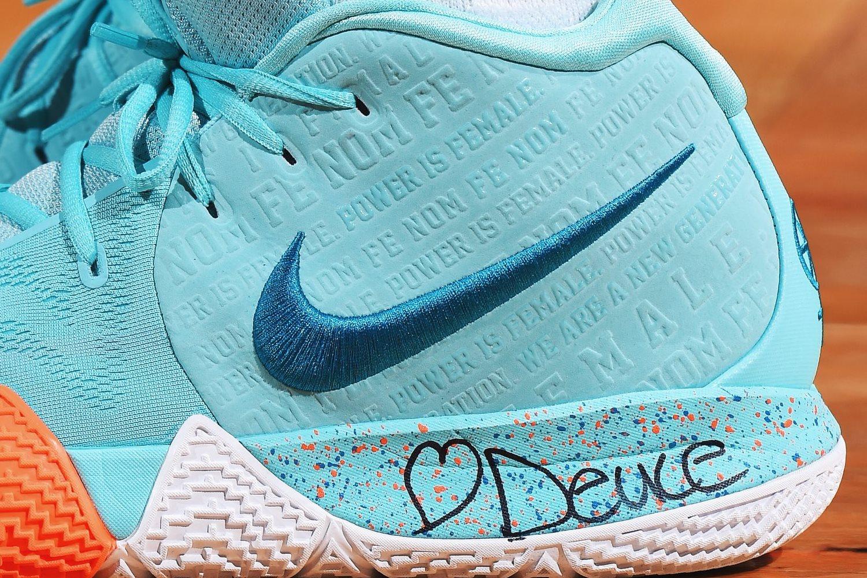 new product bac1b 1ac07 Nike Kyrie 4 Power is Female (3) – KENLU.net
