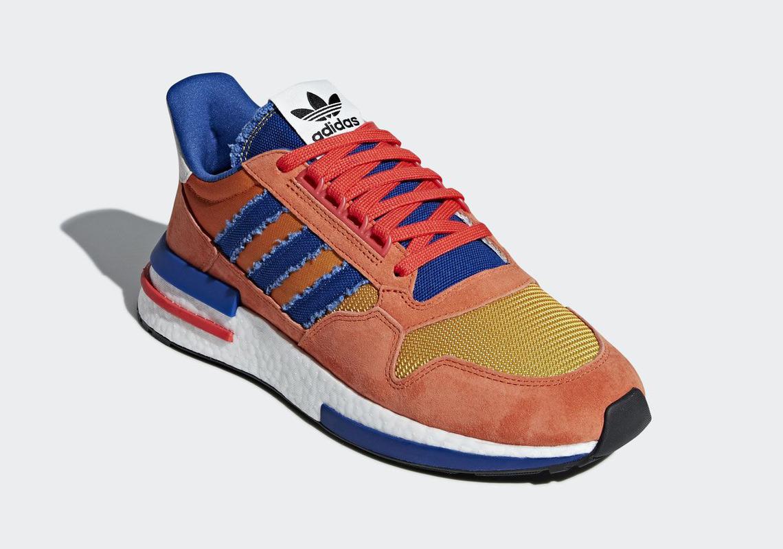 watch 18885 3dfc8 adidas-dragon-ball-z-adidas ZX500 RM Son Goku (2)