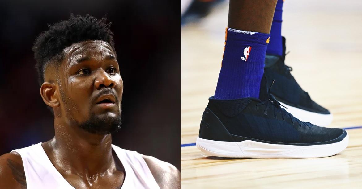 a20dec6a535694 why Deandre Ayton wore Nike shoes instead of Puma (1) – KENLU.net