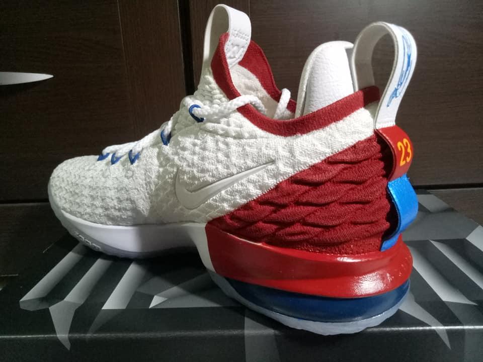 online store 4a1a5 79a17 Nike LeBron 15 AZG SVSM 1st Game Custom by kenny custom ...