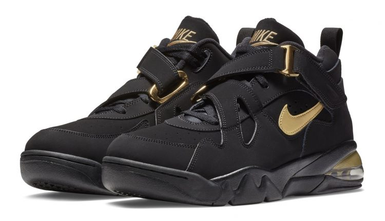 Nike Air Force Max CB black gold (1)