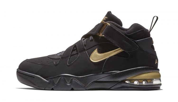 Nike Air Force Max CB black gold (2)
