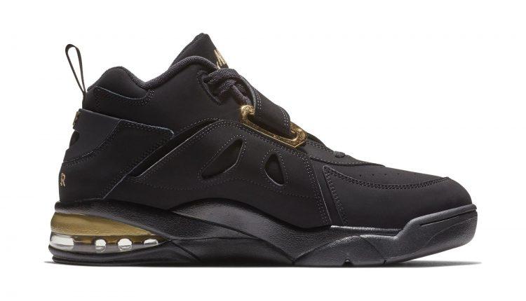 Nike Air Force Max CB black gold (4)