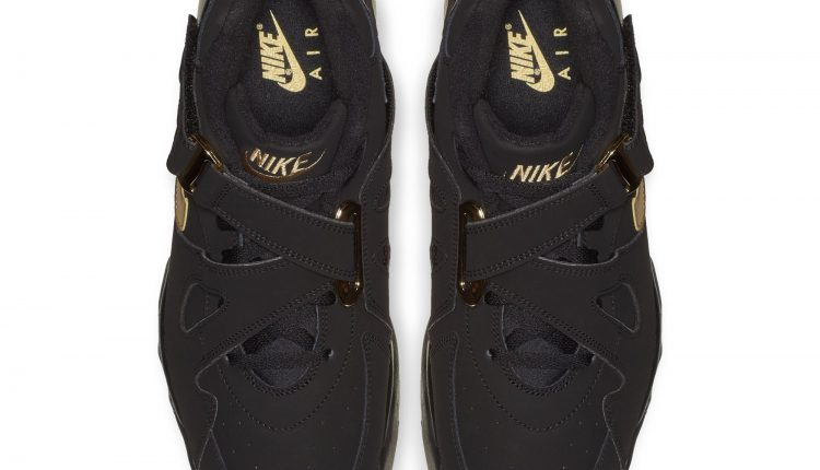 Nike Air Force Max CB black gold (5)