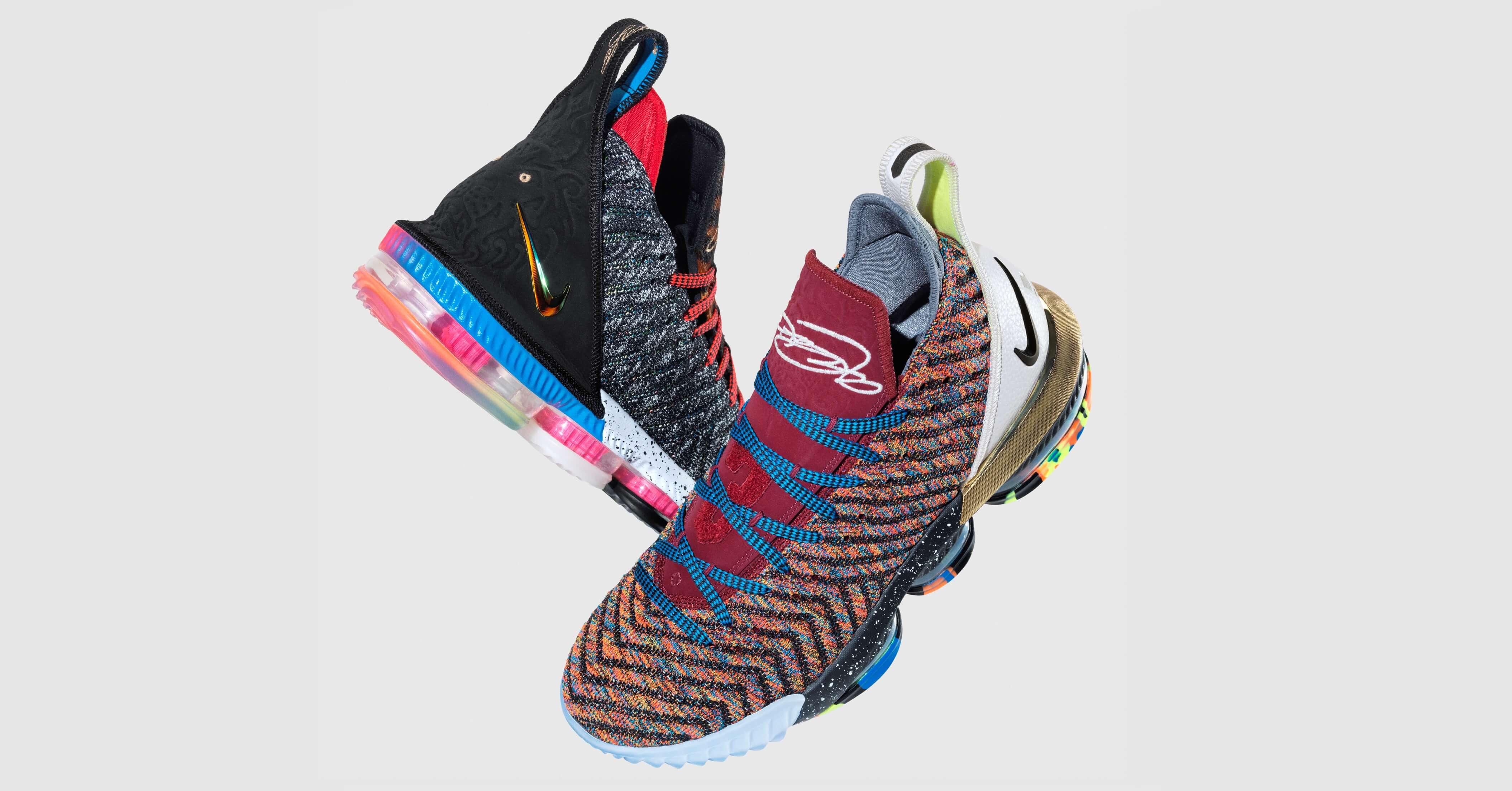 the latest 894ed a94c5 新聞分享/ 概念揭曉原來這雙叫做Nike LeBron 16 '1 THRU 5 ...