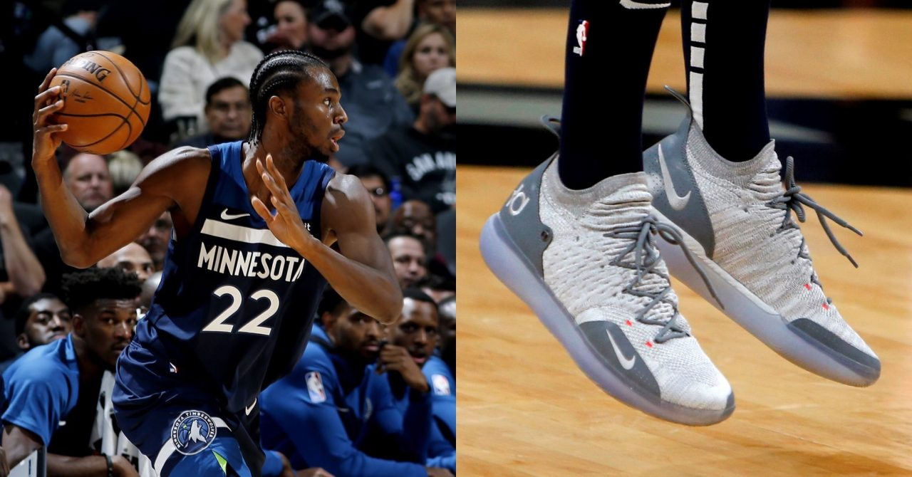 Andrew Wiggins 穿Nike Zoom KD11
