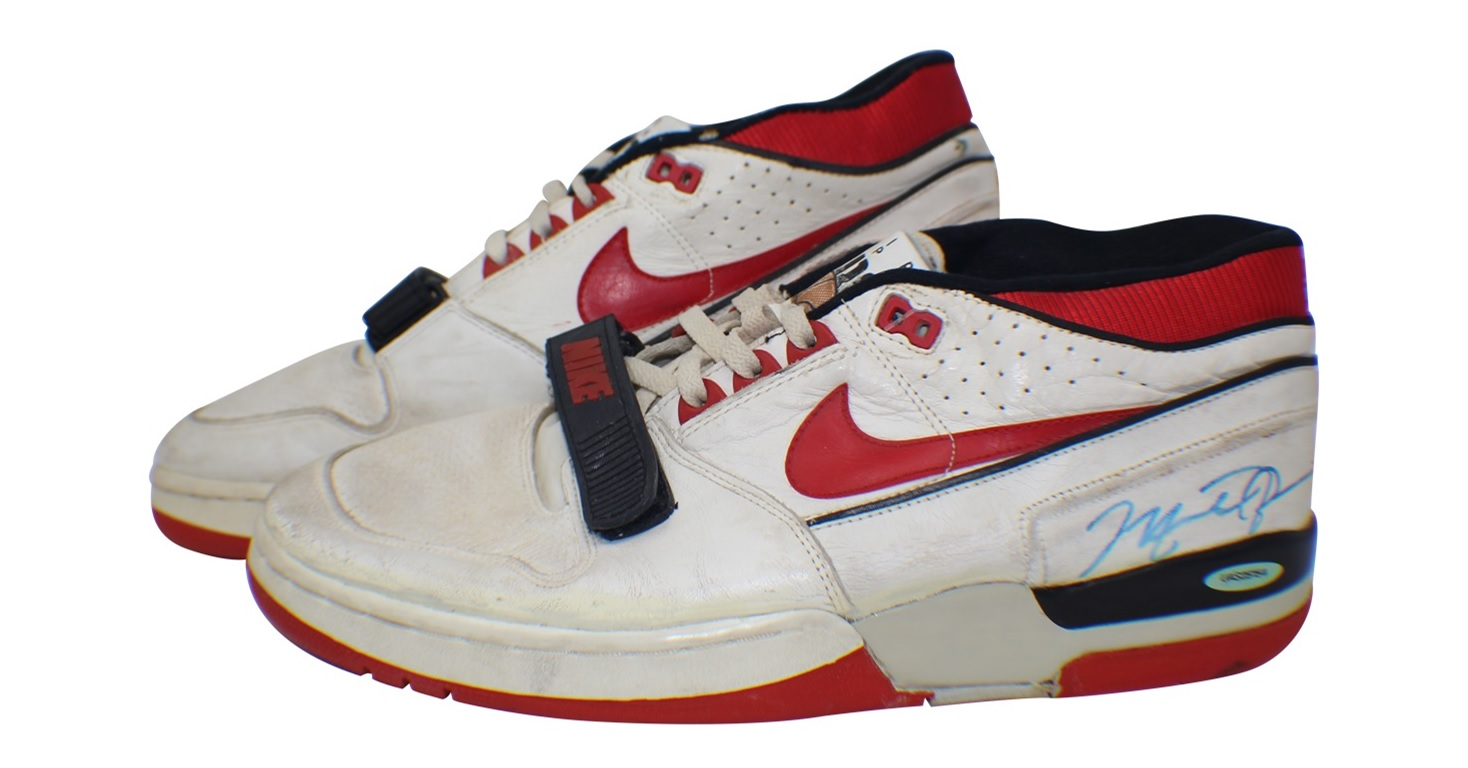 new product bc7b5 8c677 Michael-Jordan-Game-Worn-Autographed-nike-air-alpha-force ...