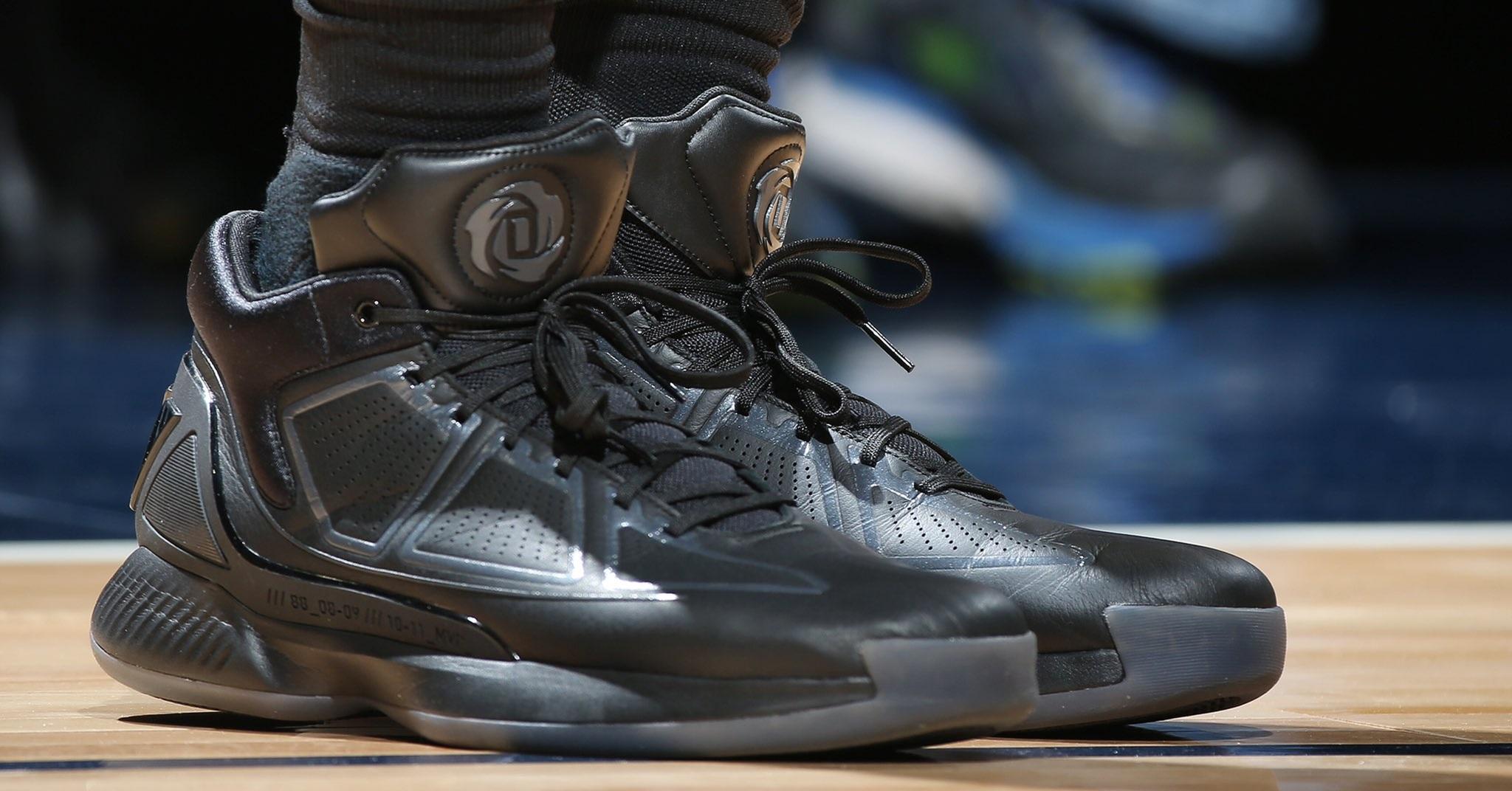 404b30d3b7df 選手實著  第十代戰靴現身Derrick Rose 上腳adidas D Rose 10 – KENLU.net