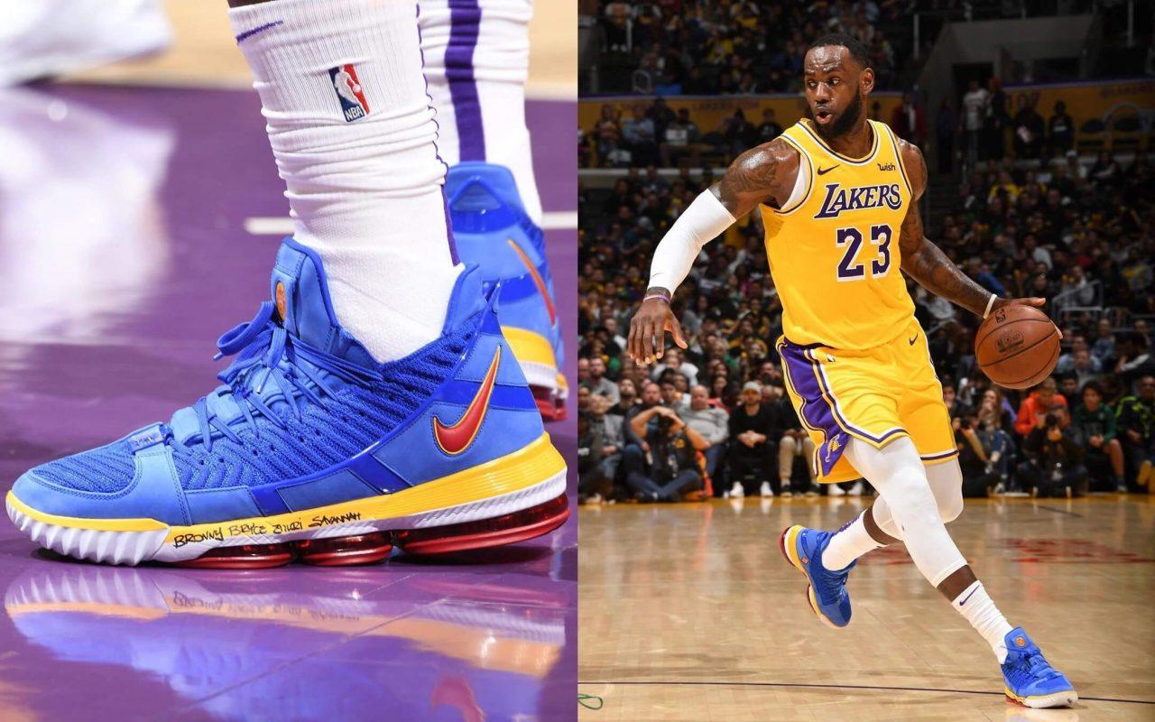 Nike LeBron 16 'SB Blue