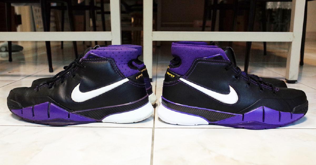 65d8f675cfc 網友WMSKY 鞋評  Nike Zoom Kobe 1 Protro  Purple Reign  – KENLU.net