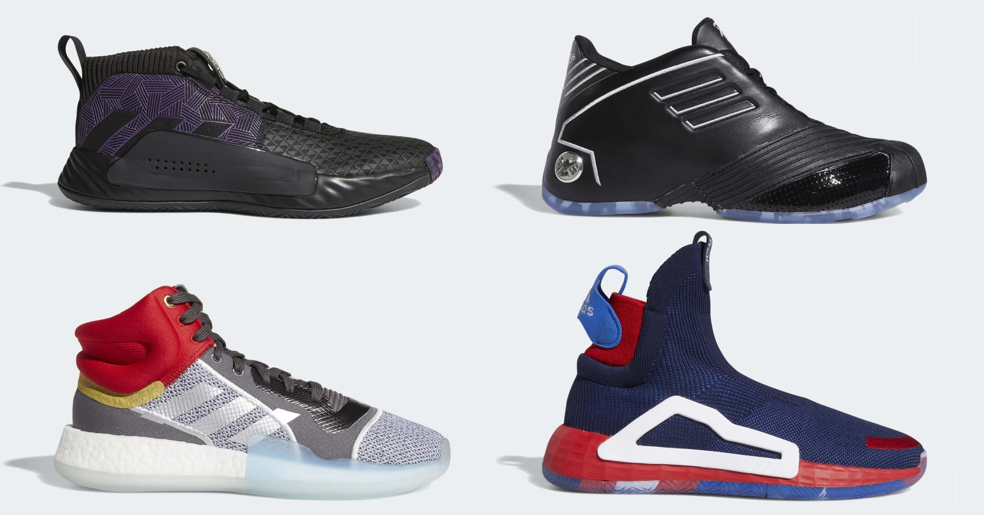 huge discount f336a be0bb MARVEL adidas Heroes Among Us img (1)