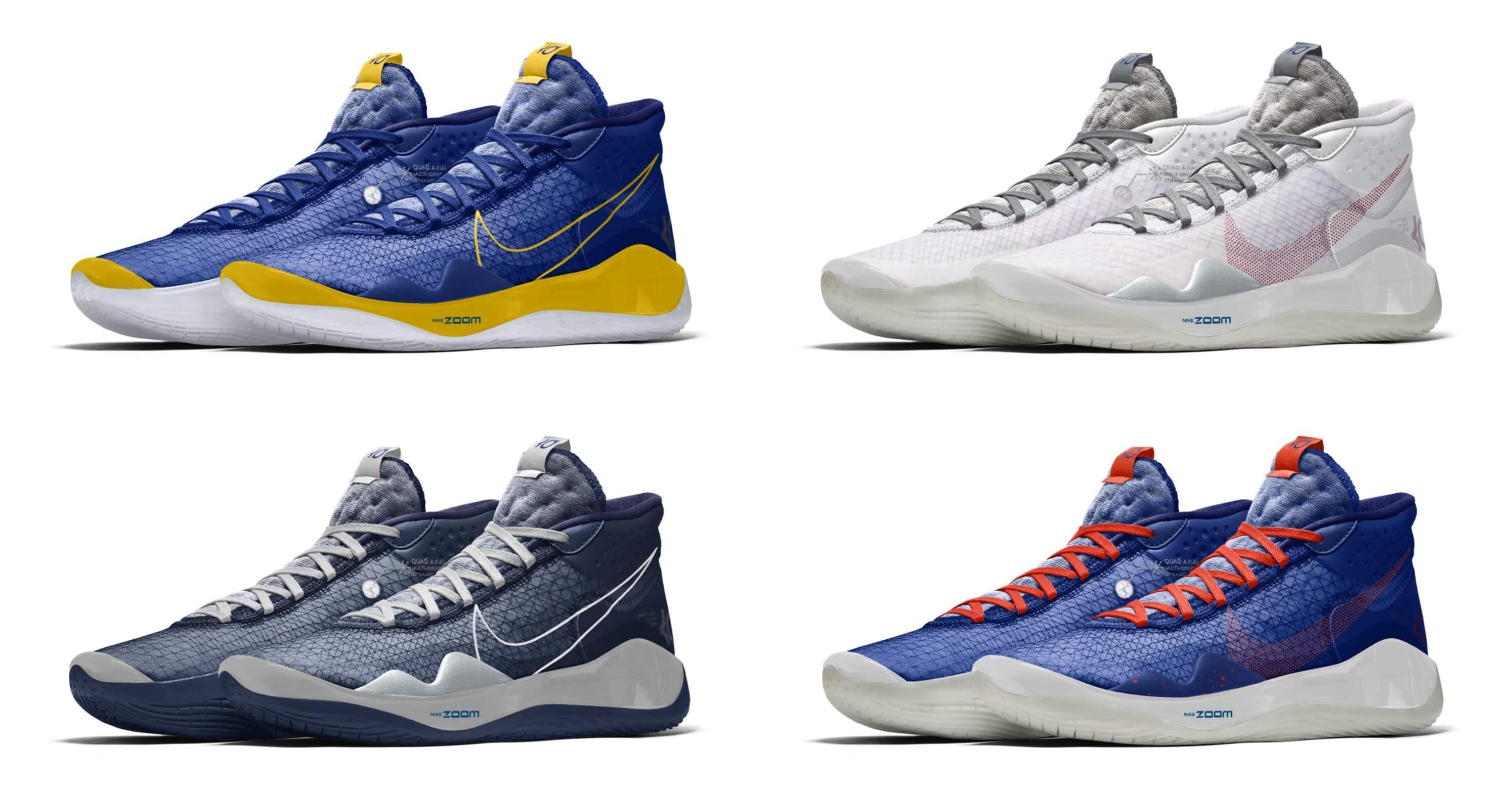 配色Nike Zoom KD12