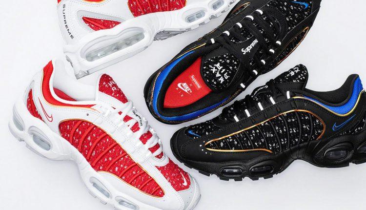 Supreme x Nike Air Max Tailwind 4