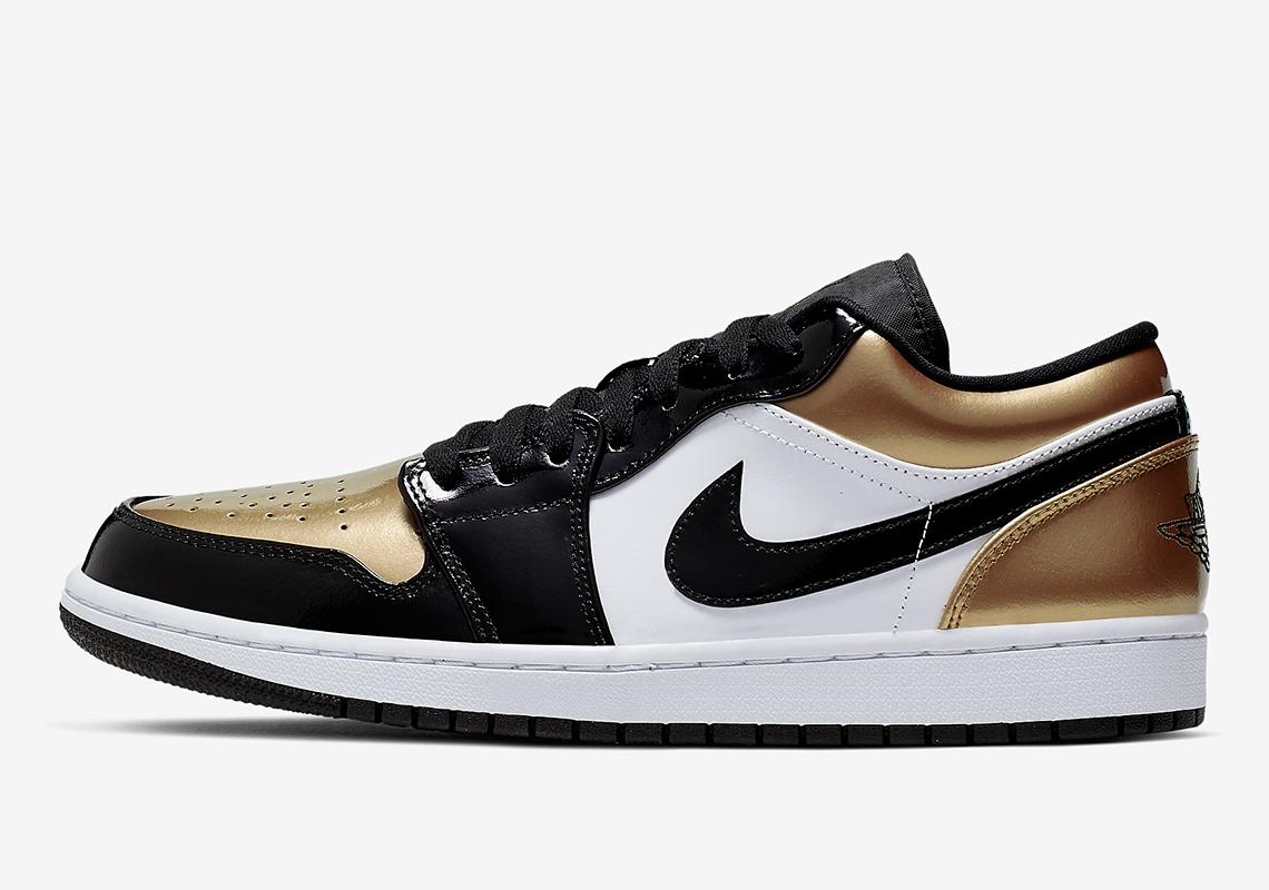 more photos a34e9 c99f3 新聞分享/ 錯過了高筒不如看這雙Air Jordan 1 Low 'Gold Toe ...