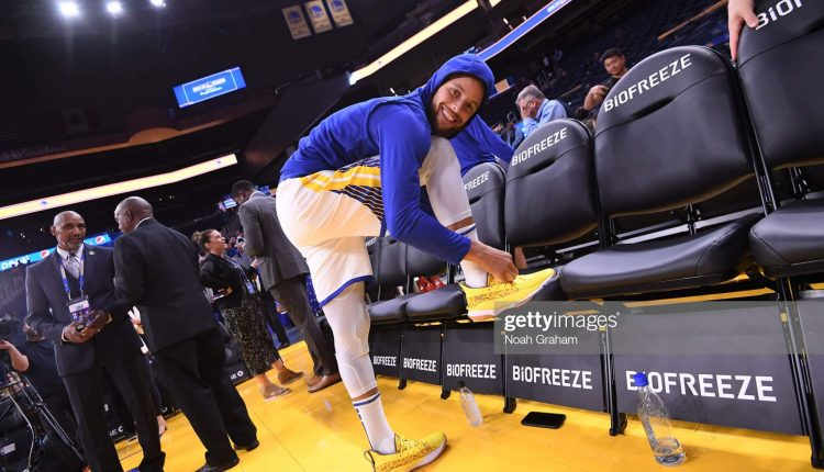 Stephen Curry Under Armour Curry 7 leopard print (2)