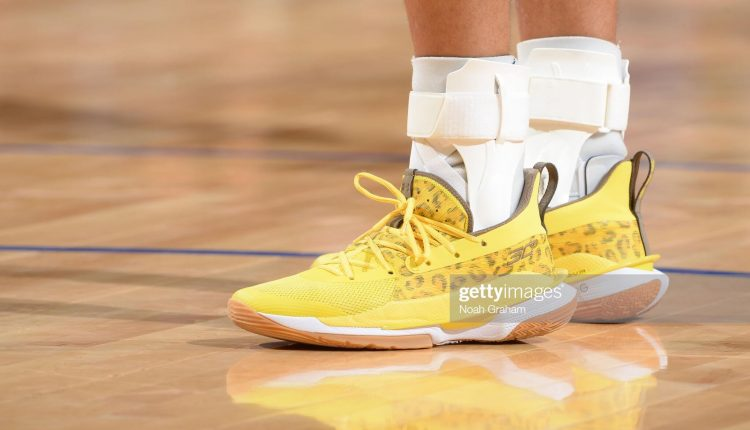 Stephen Curry Under Armour Curry 7 leopard print (6)