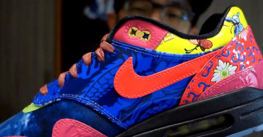 Nike Air Max 1 CNY 'Longevity' unbox mr i